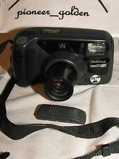 PENTAX ZOOM 90WR WATER RESISTANCE CAMERA w/built-in zoom lens, REMOTE