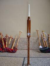 Pratica Chanter + Reed imparare cornamusa con chanter marrone chiaro argento