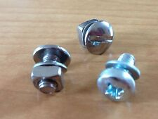 RALEIGH CHOPPER MK I & II REAR MUD GUARD FIXINGS - STAINLESS STEEL ** NO RUST **