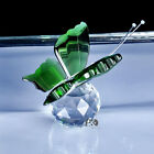 Fashion Beautiful Crystal paperweight Little Green Butterfly Shape Love Gift Hot