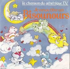 TV OST LES BISOUNOURS JE VEUX ETRE UN BISOUNOURS / GROS FARCEUR FRENCH 45 SINGLE