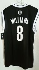 Adidas NBA Jersey Nets Deron Williams Black sz 2X