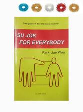 Su Jok for Everybody by Prof. Park Jae Woo Book + Free 5 Sujok Acupressure Rings