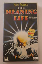 Monty Python The Meaning of Life-CLASSIC RARE VHS PAL  'AS NEW'