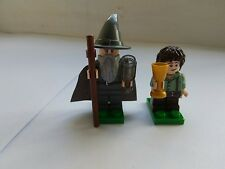 Lego GENUINE  Minifigure Lord Of The Rings Gandalf And Frodo