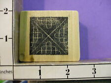 Background Abstract geometric design RUBBER STAMP 33K