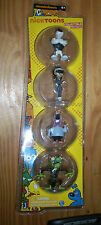 NICKTOONS TUFF PUPPY ACTION FIGURE PACK DUDLY KITTY KATSWELL CHAMALEON SNAP TRAP