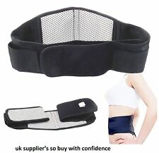 Back Support Belt Lower Lumbar Brace Waist Backache Pain Injury Relief