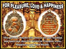 """""""FOR PLEASURE, LOVE & HAPPINESS"""" -TH-5050   MAGIC THAI AUTHENTIC HOLY AMULET"""