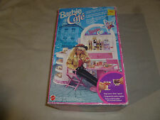 VINTAGE BOXED BARBIE CAFE BAKERY PLAY SET 10134 MATTEL 1992 COMPLETE IN BOX RARE