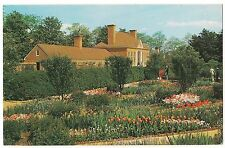 Flower Gardens Greenhouse MOUNT VERNON Virginia Postcard VA George Washington