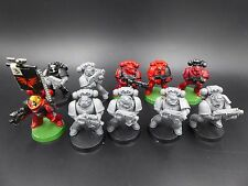 Space Marines Blood Angels Tactical Squad (10) OOP - plastic Warhammer 40K DQ14