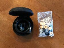 Shure E2c In-Ear Headphones - Black/Clear, in excellent condition
