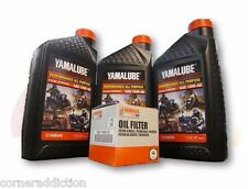 Yamalube Genuine Oil Change Kit RHINO 450 660 700 2004-2013 10W-40 and Filter