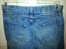 GAP 1969 Straight Fit Selvedge Denim Blue Jeans 100% Authentic 29/30 Button Fly
