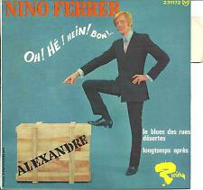 Rare 60's French Mod R&B EP Nino Ferrer Alexandre. Riviera 231172 Test Pressing!