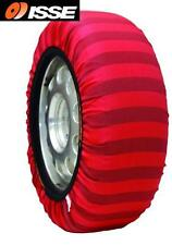 "ISSE Car Snow Tyre Socks Fabric Textile Chains #62 13"" 14"" 15"" 16"" 17"" 18"""