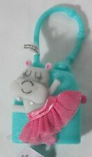 Bath & and Body Works Light-up Lighted PocketBac Holder Pink Hippo Ballerina NEW