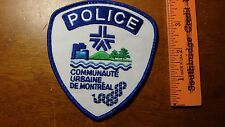 DE MONTREAL CANADA POLICE  OBSOLETE PATCH  BX 11#30
