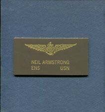 Astronaut NEIL ARMSTRONG US Navy Korean War F2H Banshee Squadron Name Tag Patch