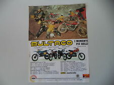 advertising Pubblicità 1978 BULTACO PURSANG MK 11/SHERPA T/FRONTERA/ALPINA