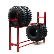 1 PC Tire Rack Reifenregal für 1/10 Wheel Tire RC4WD SCX10 D90 CC01 Rot
