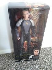 Barbie Collector PEETA Hunger Games Catching Fire Ken MIB Doll Black Label