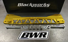 Blackworks BWR Rear Subframe Brace 01-05 Honda Civic EM2 GOLD