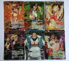 One Piece Miracle Battle Carddass Super Omega Set OP11 6/6