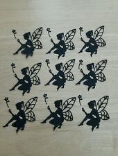Die cut Fairies silhouette,toppers Card Making Embellishments Decoupage
