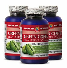 GREEN COFFE BEAN EXTRACT CLEANSE - Lose Weight - Pure Green Coffee Extract 3B