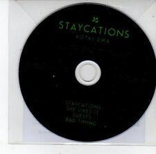 (EG901) Staycations, Kotki Dwa album sampler - 2012 DJ CD