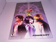 Final Fantasy VIII 8 (PC) Instructions Manual Book