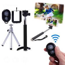Mono-pied Bâton De Selfie Trépied Télescopique Bluetooth Télécommande Sans Fil
