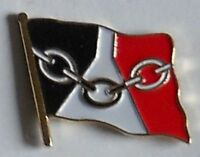Black Country England County Flag Enamel Pin Badge