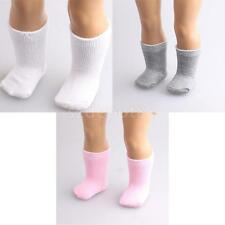 "3 Pair Socks Stockings for 18"" American Girl AG Journey My Life Doll Accessories"