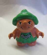 Lego Duplo Little Forest Friends TRIXIE TOADSTOOL Minifig 1999 2000 Rare!