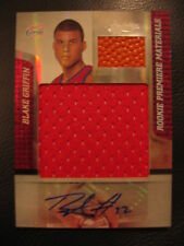 2009-10 Absolute Spectrum Blake Griffin Auto RC Jumbo Patch & Ball #1/5 = 1/1