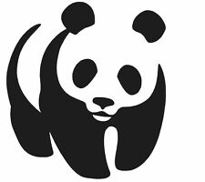 PANDA VINYL DECAL STICKER ANIMAL BEAR WINDOW CAR LAPTOP CHOOSE COLOR