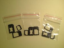3 OEM Sets Of Mini Micro Nano Sim Adaptor