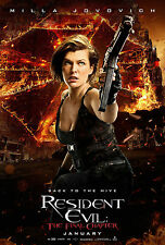 RESIDENT EVIL THE FINAL CHAPTER MANIFESTO MILLA JOVOVICH PAUL ANDERSON ROSE