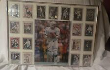 SWEET FRAMED DAN MARINO 11 X 14 AUTOGRAPH SIGNED CARD DISPLAY MAN CAVE LOOK