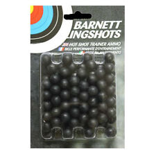 Barnett PRACTICE AMMO 100 BB Black Widow Cobra Diablo Catapult Ball Bearing .44