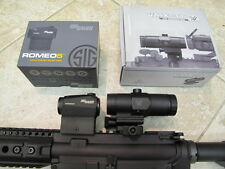 SIG SAUER Romeo 5 RED DOT SCOPE + Vortex Magnifier 2 MOA + Free Goodie!