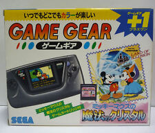 CONSOLE SEGA GAME GEAR MICKEY MOUSE SPECIAL EDITION RARE NTSC JAPAN BOXED