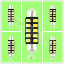5X 42mm 10 SMD 2835 LED Soffitte Lampe Innenraum Beleuchtung warmweiss DC 12V