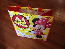 MINNIE MOUSE reusable LARGE travel GROCERY tote BAG