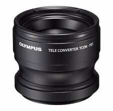 New!! OLYMPUS TCON-T01 Teleconverter Lens for TG-1 and TG-2 Cameras Japan Import