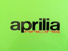 Aprilia Racing Track bike or road fairing Decals Stickers PAIR#78