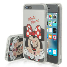 Coque Housse Silicone TPU Ultra-Fine Minnie Mouse Apple iPhone 5SE/ iPhone SE